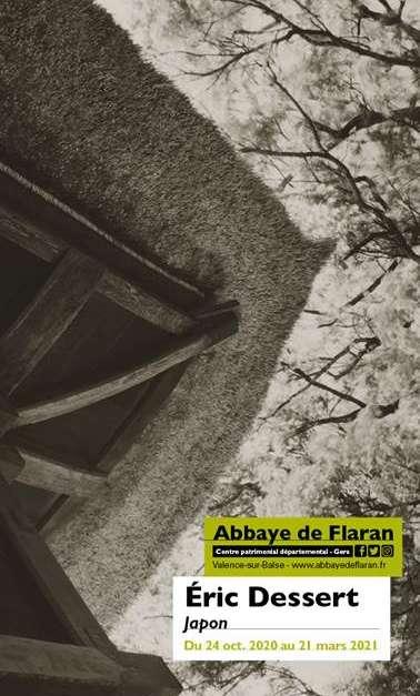 Abbaye de Flaran - Exposition - Eric Dessert, Japon, Affiche