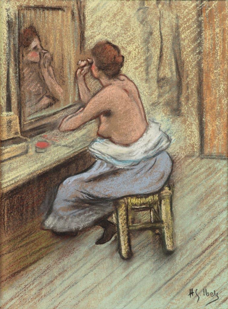 Musée Toulouse Lautrec - H-G Ibels, Mensonge