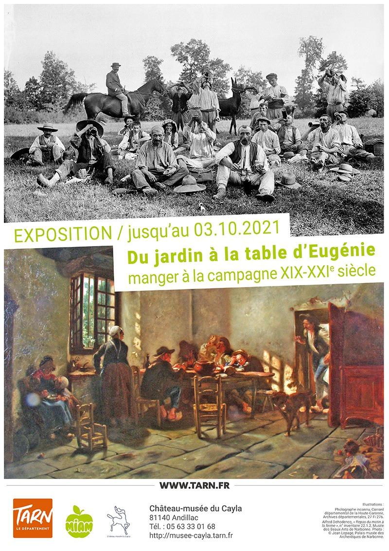 affiche - La table d'Eugénie