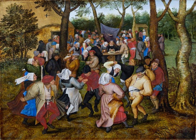 Pieter II BRUEGHEL - Danse de noce