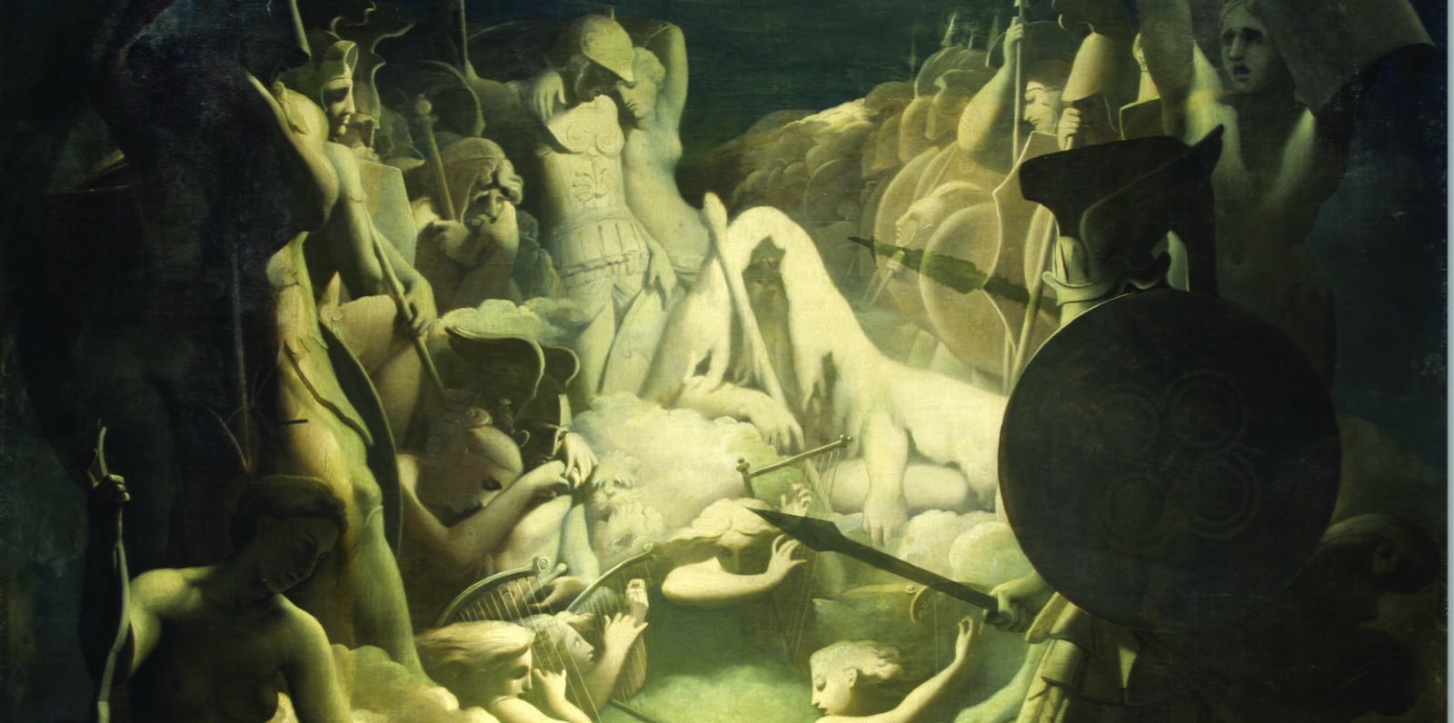 Ingres - Le songe d'Ossian