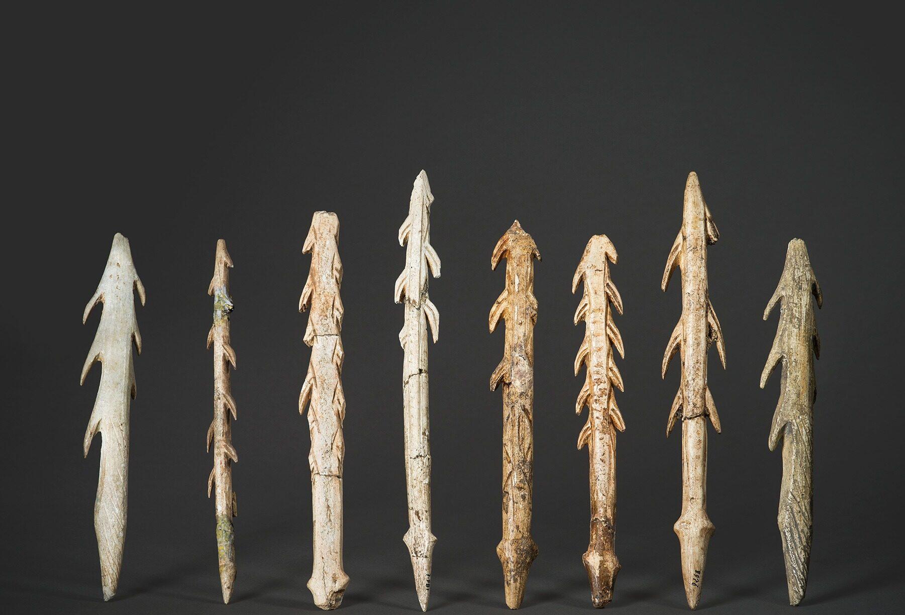 Harpons magadaléniens - Musée archéologique du Pech Merle