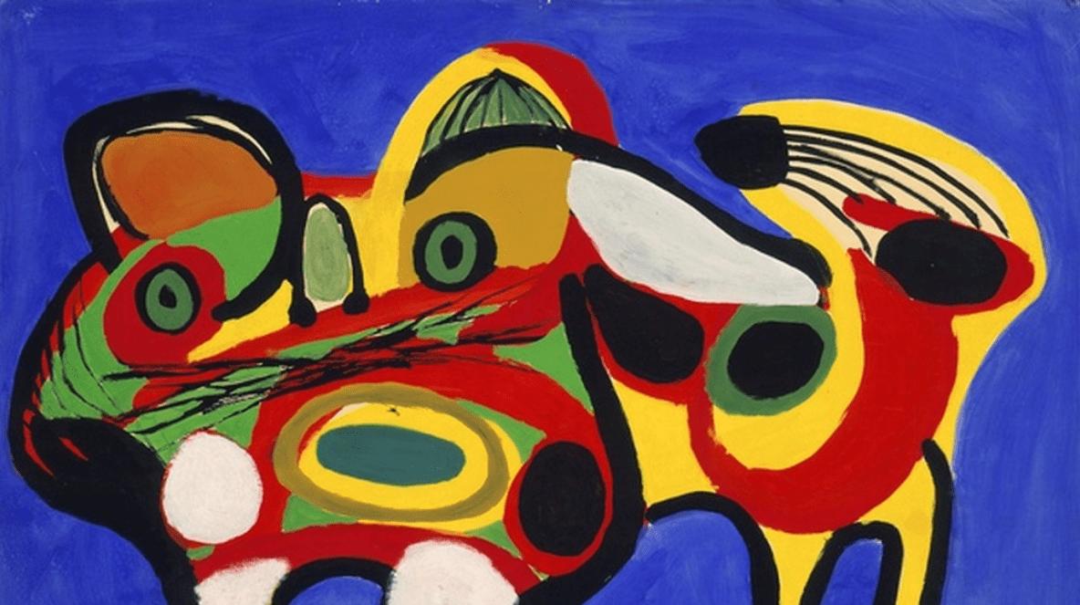 Karel Appel - Le Chat