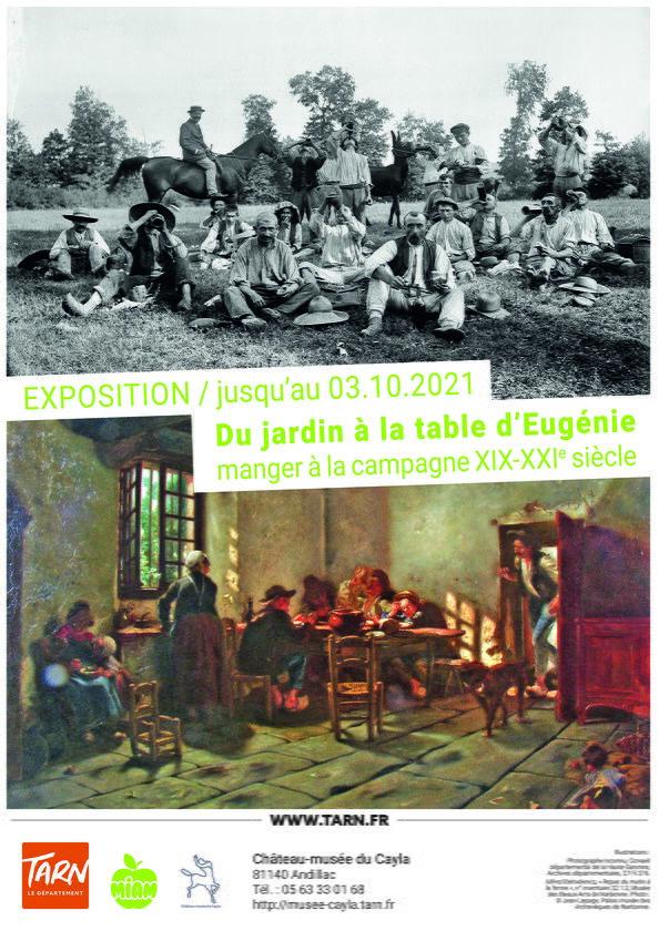 Château-Musée du Cayla - Exposition - La table d'Eugénie