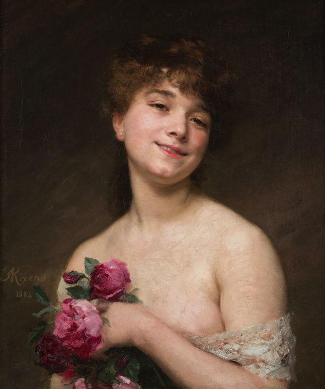 Jean-André Rixens - Portrait de Melle Delagrange