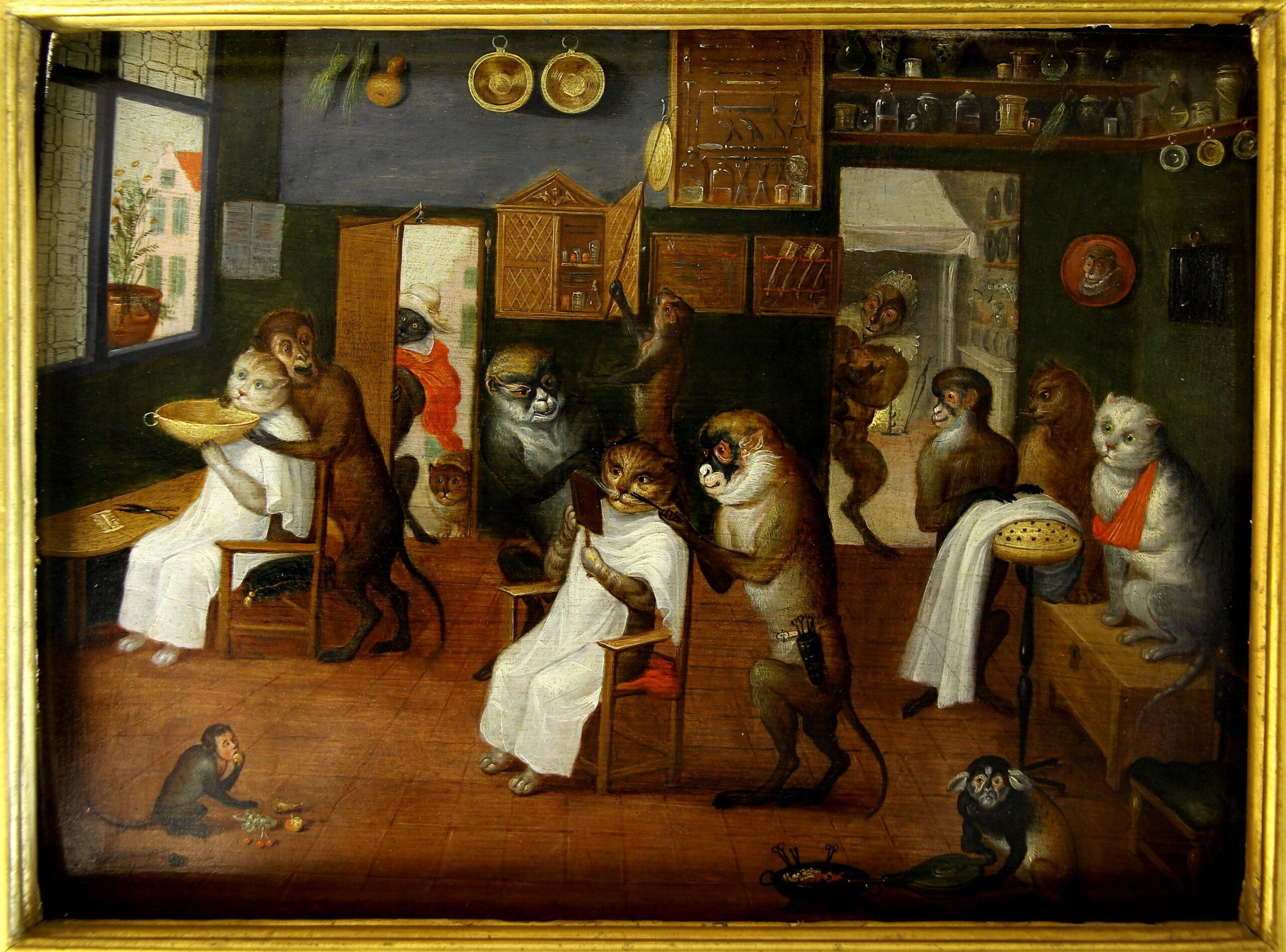 Ferdinand van Kessel - Les singeries