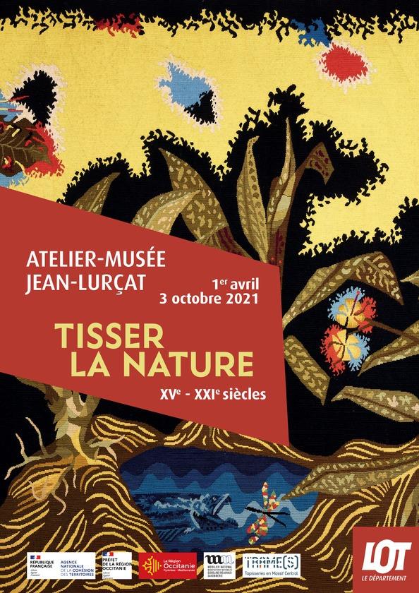 Atelier Musée Lurcat - exposition - Tisser la nature