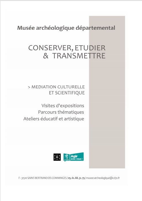 Programme de médiation - Musée archéologique départemental