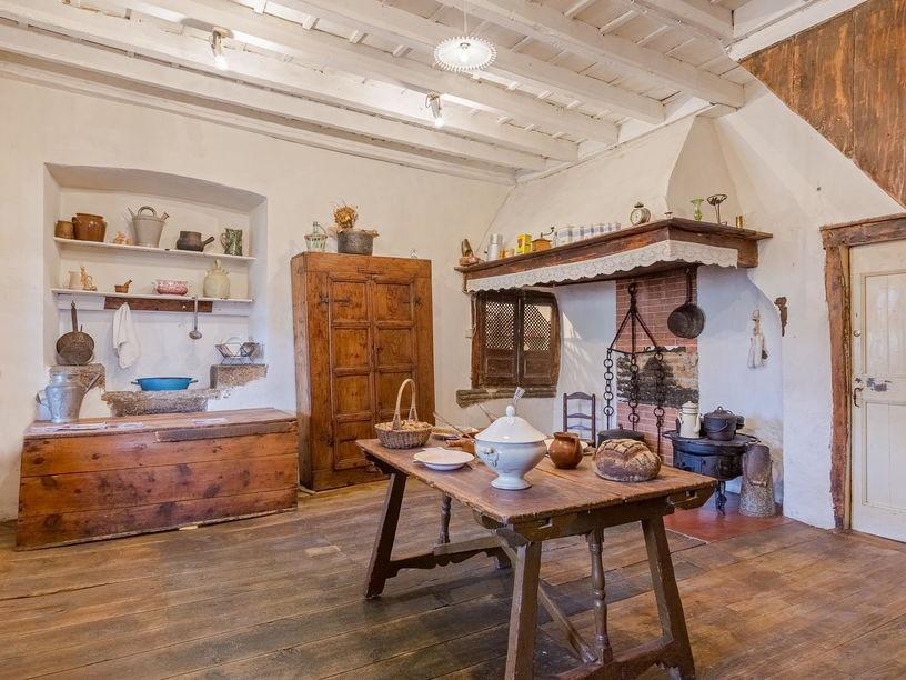 Reconstitution cuisine - Musée de Cerdagne