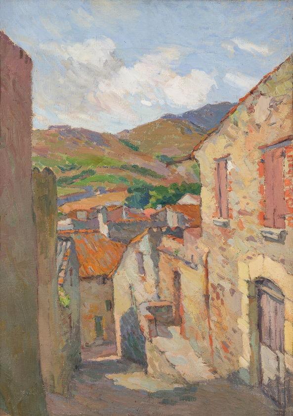 Henri Marre - Rue de Collioure