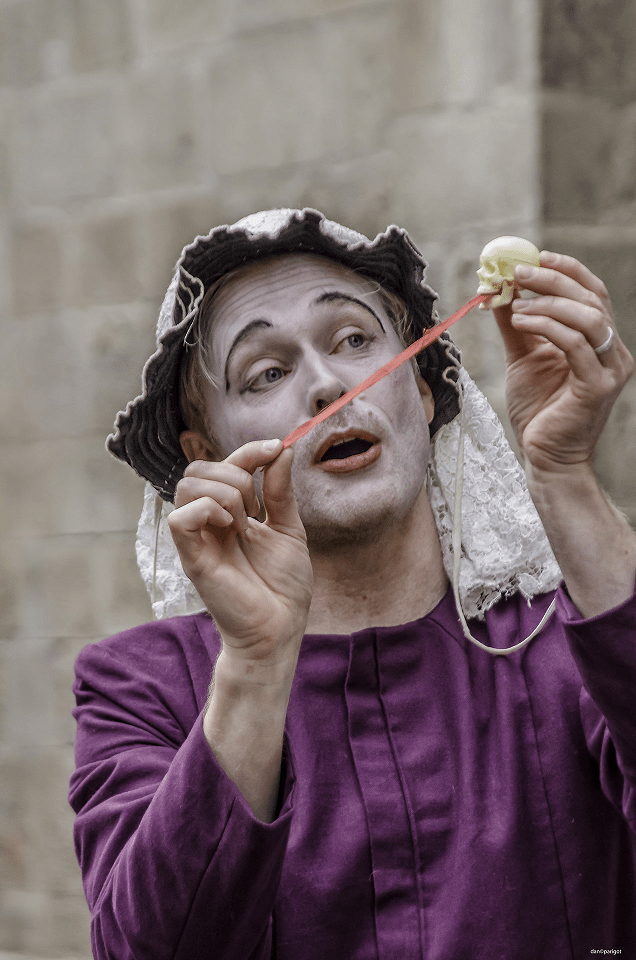 Emmanuel Chanal de la Compagnie Wakan Théâtre