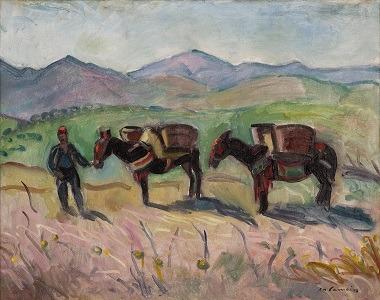 Charles Camoin - Les ânes à Collioure