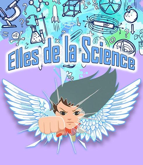 Visuel Elles de la Science