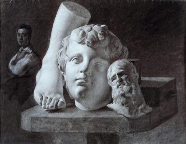 Exposition : À l'école des classiques, les dessins académiques dans les collections des Beaux-arts