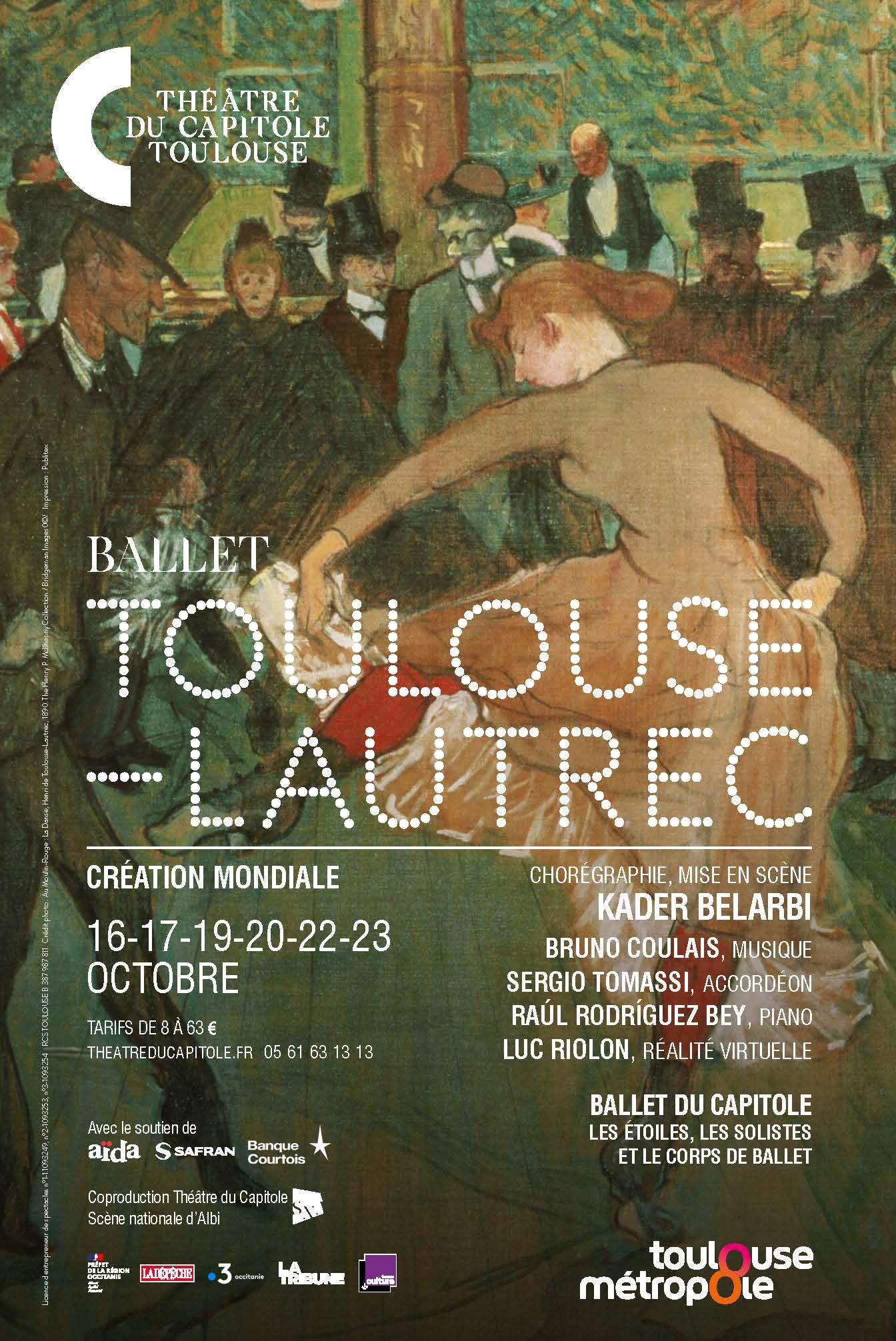 ballet Toulouse-Lautrec