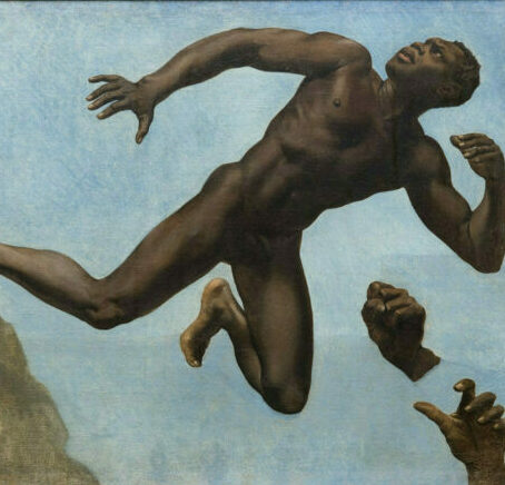 Étude de noir d'après le modèle Joseph, de Théodore Chassériau