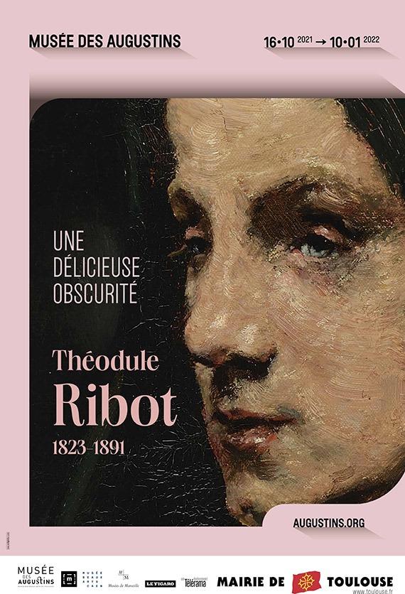 "Affiche expo ""Théodule Ribot"""