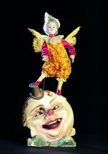 Clown sur la lune