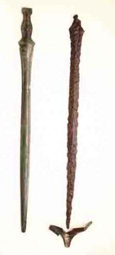 Epée et sa bouterolle – Tumulus de Fournalades