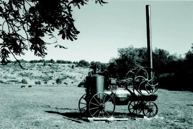 Locomobile à vapeur Merlin