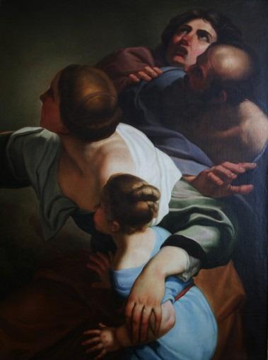 Martyr de Saint Sébastien (étude pour une fresque, basilique de Ste-Marie des Anges à Rome)