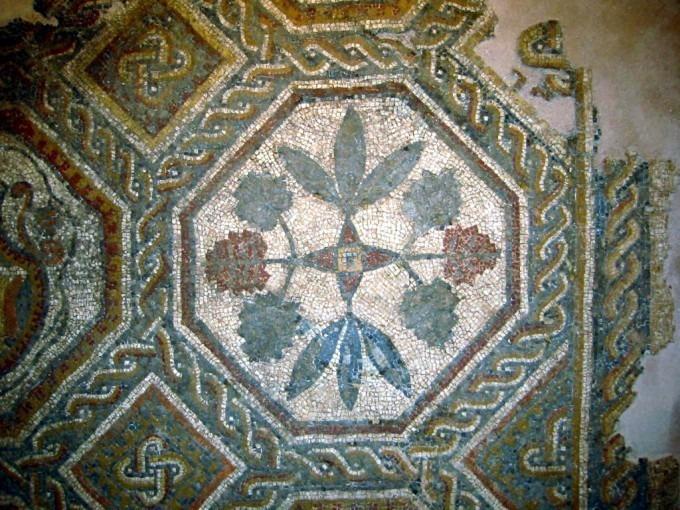 Mosaïque de la villa gallo-romaine de Las Peyras