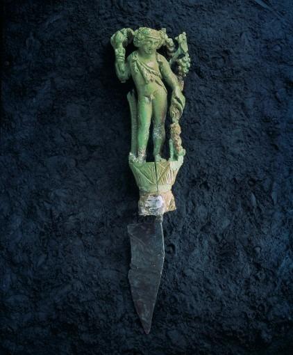 Bacchus en ivoire d'Eauze (IIIème s.)