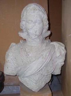 Buste d'un chevalier de l'ordre du Saint-Esprit