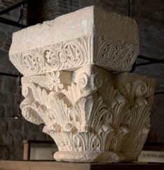 Chapiteau de la salle capitulaire de l'abbaye Saint-Pierre de Moissac