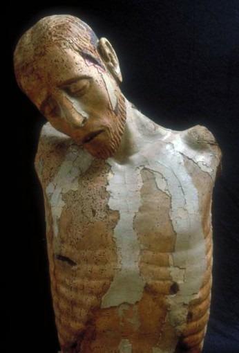 Christ en croix, Abbaye de Bonnecombe