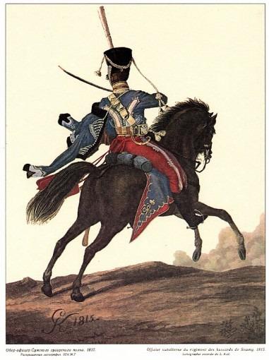 Hussard russe du régiment de Soum
