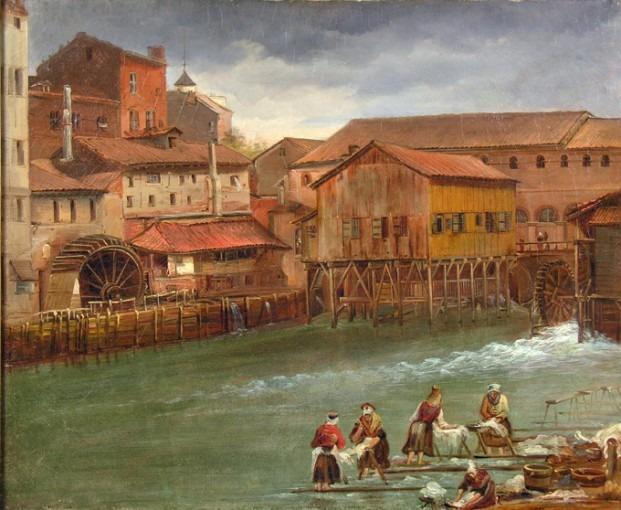 La Garonnette et les moulins du Château Narbonnais