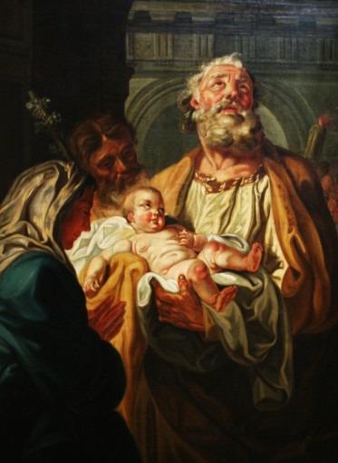La Vierge, l'Enfant et Saint Siméon