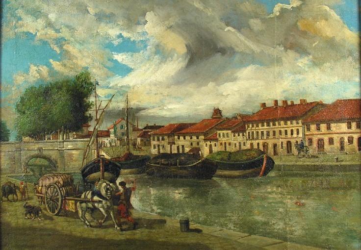 Le port Saint-Sauveur et le canal du Midi