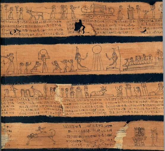 Livre des morts de Neferiou sur bandelettes