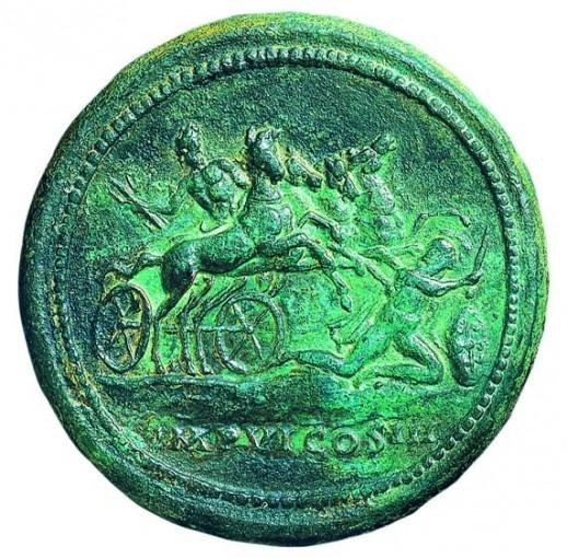 Monnaie du Trésor d'Eauze (III°s.)
