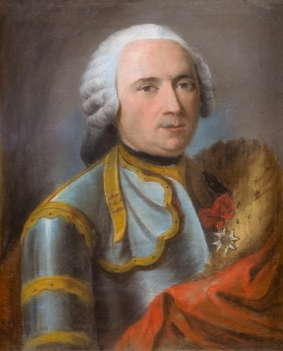 Portrait d'homme en armure d'apparat