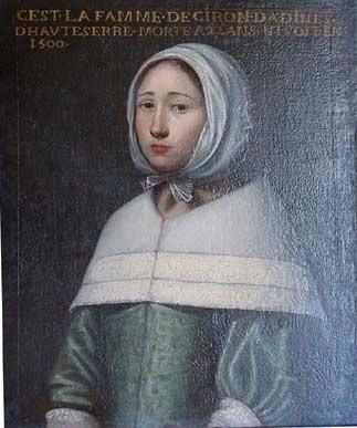 Portrait de la femme de Giron Dadines