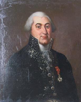 Portrait de M. Bailly, premier préfet du Lot