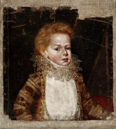 Portrait de Philippe II enfant