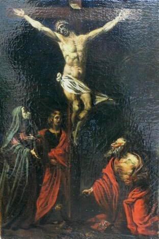 Saint Jérôme au pied de la Croix