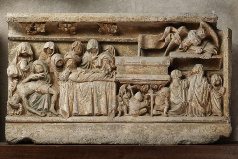 Scène de la Passion du Christ