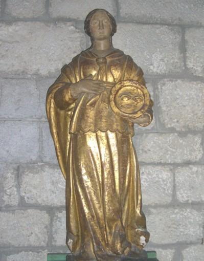 Statue de sainte Luce
