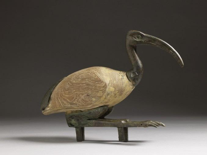 Statuette d'ibis