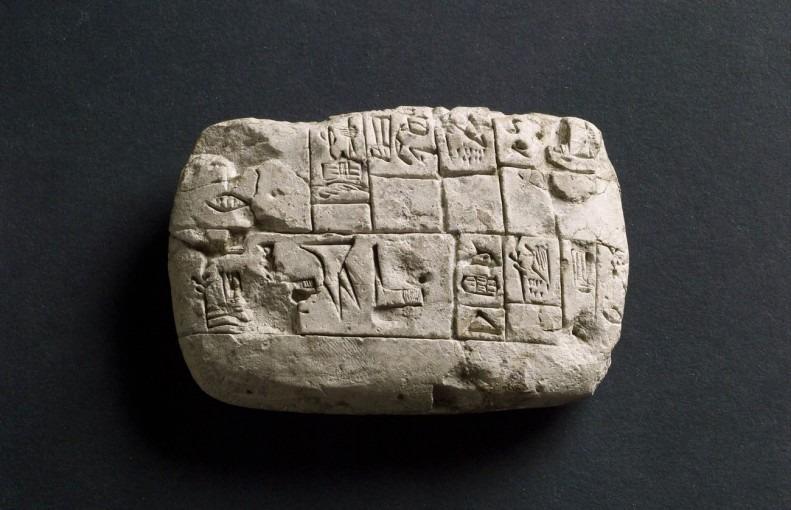 tablette pictographique