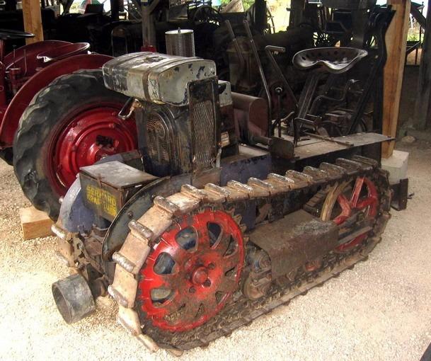 Tracteur Bernard BT 14