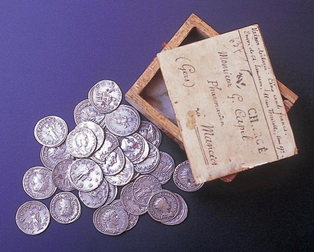 Trésor monétaire de Manciet : trente et un deniers