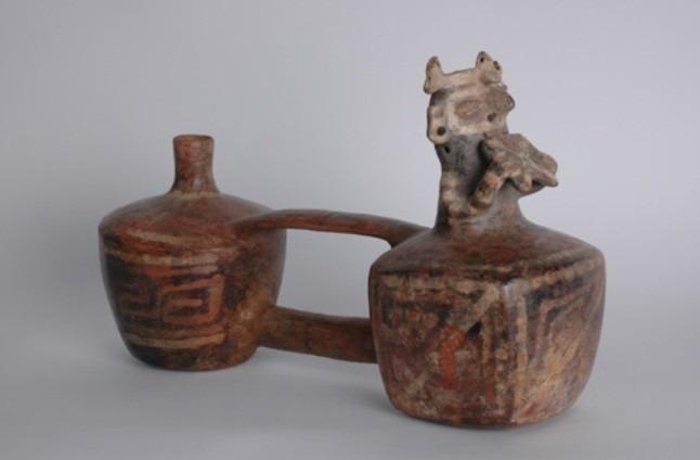 Vase à double corps
