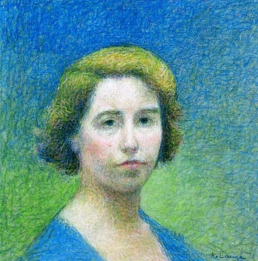 Juliette Laugé, fille de l'artiste.