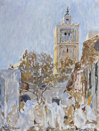 Rue  du minaret de Teboursouk